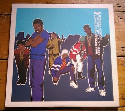 Droppin' Science-The Best Of Cold Chillin By Marley Marl 3Xlp Bbelp022 Vg++!