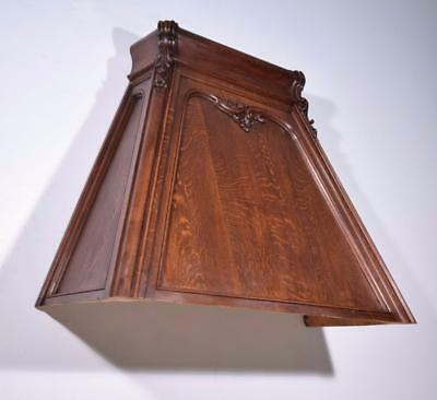 Antique French Louis XV Style Oak Fireplace or Range Vent Hood