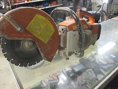 "Stihl TS400 Gas Powered 14"" Concrete Saw Demolition Cutoff  Construction"