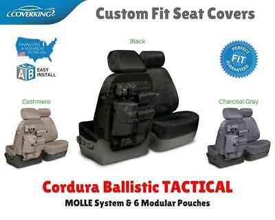 TACTICAL BALLISTIC MOLLE CUSTOM FIT SEAT COVERS for NISSAN LEAF