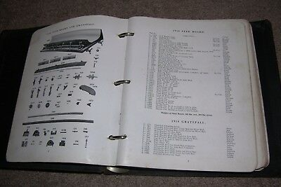 c.1918 Parts/Tools Catalog Cotton Gin/Seeders, Carver Models, etc