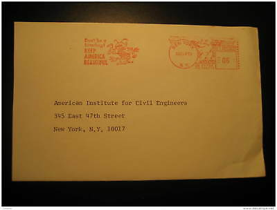 BEE BEES HONEY BEEKEEPING APICULTURE New York 1978 Cancel Cover USA