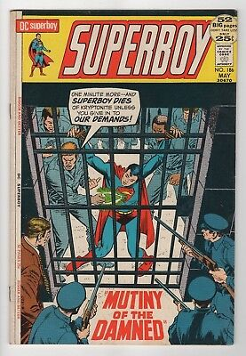 DC Comics Superboy #186 Bronze Age