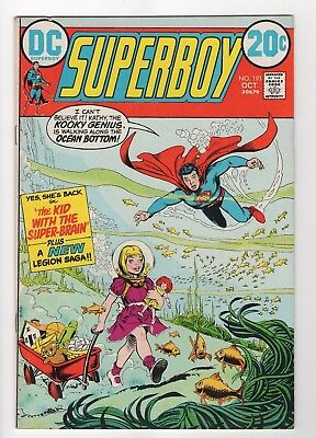 DC Comics Superboy #191 Origin Sunboy Re-told Bronze Age.