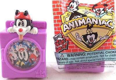 wb Animaniacs WAKKO Washing  MIB Toy '98 Warner Brothers Looney Tunes Wendy's