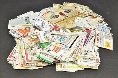 Vtg 1980s Manufacturer Coupons Huge Mixed Lot Movie Prop 1.7 lbs No Expiration