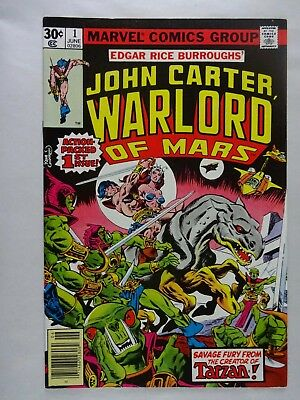 John Carter, Warlord of Mars #1   High Grade VF/NM   1st Dejah Thoris   Gil Kane