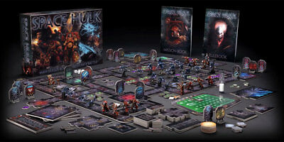 Space Hulk Boxed Set New Mint Condition Unopened OOP