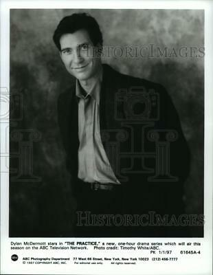 "1997 Press Photo ""The Practice"" stars Dylan McDermott - spp36544"