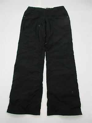 NIKE ACG #P1303 Women's Size 10 All Conditions Gear Snowboarding Black Ski Pants