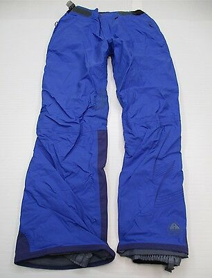 NIKE #P3923 Women's Size S ACG STORM-FIT Snow Ski OUTER LAYER Blue Pants