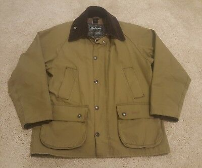 Barbour Bedale Wax Cotton Jacket Made In England Men's C38