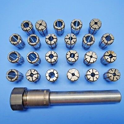 """23 TSD ACURA FLEX COLLETS and COLLET EXTENSION 3/4"""" collet chuck"""