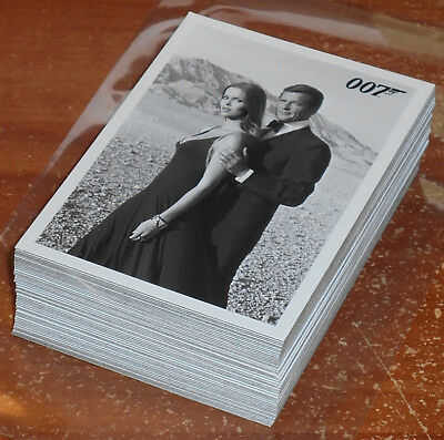 James Bond Archives 2015~THE SPY WHO LOVED ME Throwback Insert Lot (48) no dupes