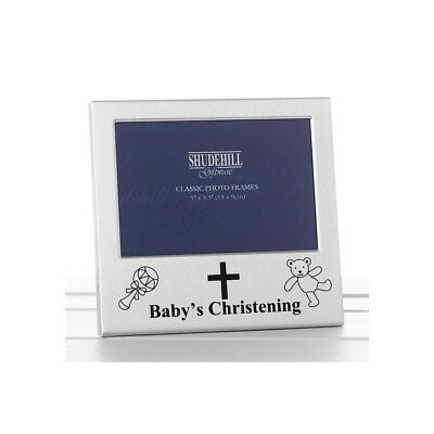 Baby's Christening Photo Frame