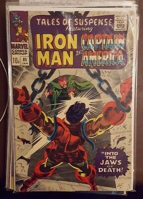 Tales Of Suspense Featuring Iron Man And Captain America #85 - Jan 1967 - Scarce