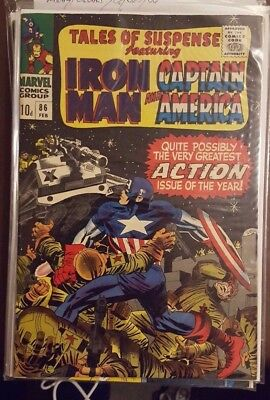Tales Of Suspense Featuring Iron Man And Captain America #86 - February 1967