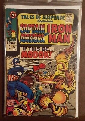 Tales Of Suspense Featuring Iron Man And Captain America #94 - October 1967