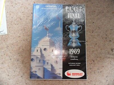 Everton v Liverpool 1988-1989 May. 20th F A Cup Final