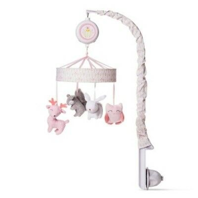 NEW Crib Mobile Forest Frolic - Cloud Island  - Pink