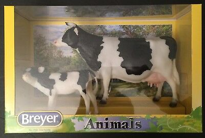 Breyer ® Cow Family #1732 Holstein Cow & Calf – Retired & Factory Sealed