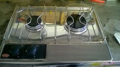 two hob gas burner