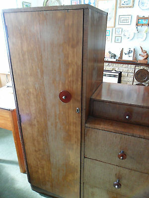 *LAST CHANCE* Will be skipped Art Deco Wardrobe with Drawers. Upcycling Project