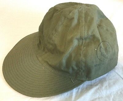 Original WWII US Army Air Corps A-3 Mechanics Cap, Size 7 1/2, Mint-Unissued!
