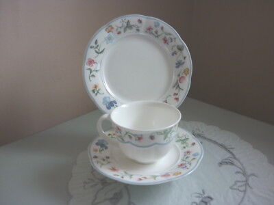 Villeroy & Boch Mariposa Tea Cup, Saucer And Side Plate