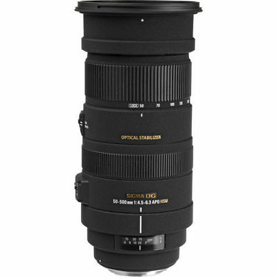 Sigma 50-500mm f/4.5-6.3 APO DG OS HSM Lens for Canon 738101