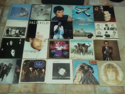 "Job Lot Of 170 Mainly Rock 12"" Vinyl Records All Pictured"
