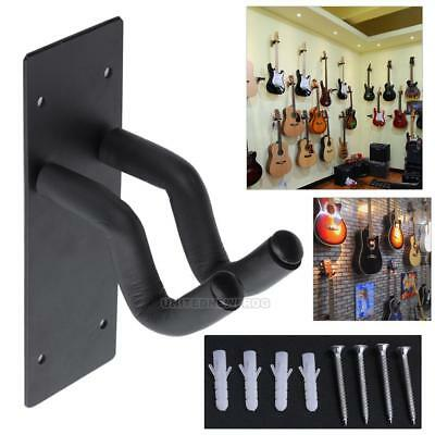 Guitar/Bass Hanger Hook Holder Wall Mount Stand Rack Bracket Display +Screws New