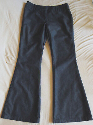 Jasper Conran womnens teen fab pair of super flare chambray trousers, jeans, 12