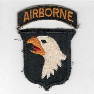 WW 2 US Army 101st Airborne Division Patch & Tab Inv# X153