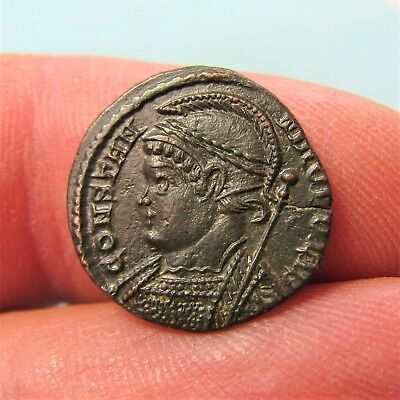 b25. Nice Constantinople city issue Roman coin
