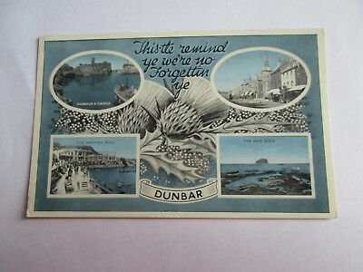 Postcard of Dunbar (Multiview) posted 1966