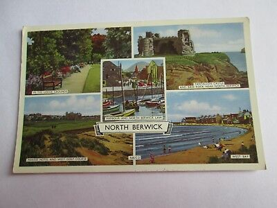 Postcard of North Berwick (posted 1963)
