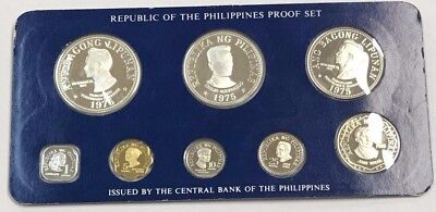 Republic of the Philippines Proof Set 8-Coin Set *Q4