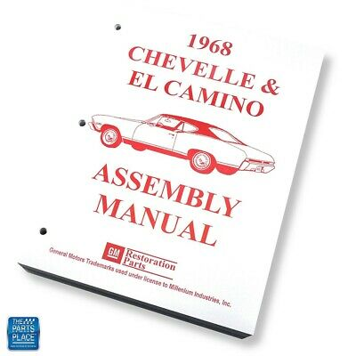 1968-68 Chevrolet Chevelle El Camino Assembly Manual Each