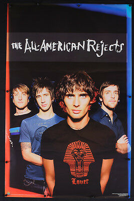 Rare Vintage 2006 All American Rejects Music Promotional Band Poster - F17