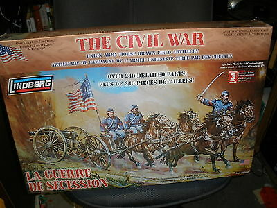 Lindberg, The Civil War, Scale 1:16, Plastic Model Construction Kit, # 70350 New