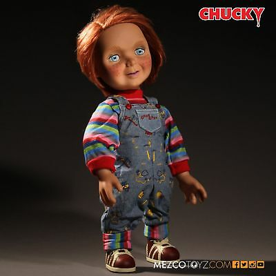"Mezco Toyz Child's Play Talking Good Guys Chucky 15"" Doll NEW AUTHENTIC IN STOCK"