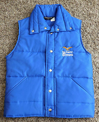 Vintage 1970s Los Angeles Times Staff Vest - New and Unworn - Free Shipping L.A.