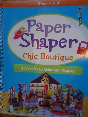 American Girl~Paper Shaper Chic Boutique~3D Crafts to Make~New~Vacation Fun!