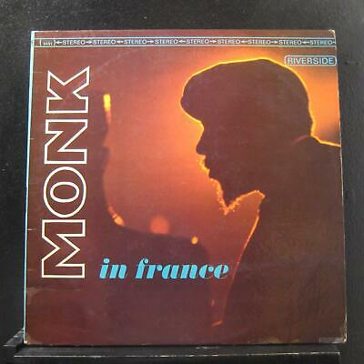 Thelonious Monk - Monk In France LP VG+ RS 9491 Turquoise Label Vinyl Record