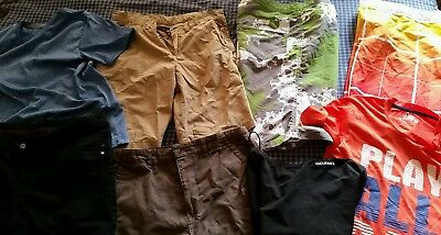 Boys Bundle of Clothes size 14 Kathmandu, Bauhaus, Speedo, Hurley 10 items