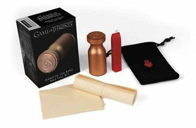 Game of Thrones: Hand of the King Wax Seal Kit by Running Press 9780762457045