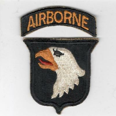 WW 2 US Army 101st Airborne Division Patch & Tab Inv# X154