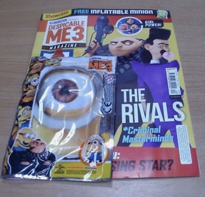 Showcase magazine Issue #24 2017 Despicable Me 3 + Inflatable Minion