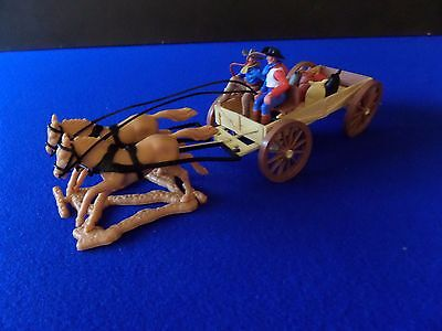 Timpo Toys England Vintage Flat Bed wagon plus Cargo & Drivers